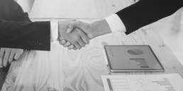 Handschlag Business