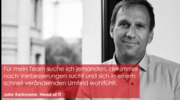 John Kerkmann ist Head of IT bei GETEC ENERGIE GmbH