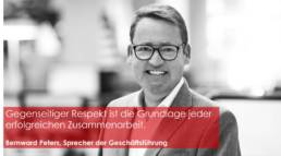 Bernward Peters ist Geschäftsführer bei GETEC ENERGIE GmbH