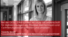 Friederike Bender ist Personalreferentin bei GETEC Daten- und Abrechnungsmanagemen GmbH