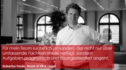 Zitat Hubertus Frede