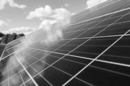 Nahaufnahme Photovoltaikanlage