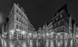 Stadtwerke bei Nacht