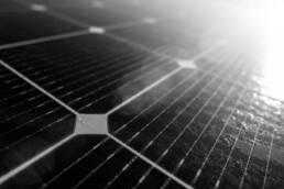 Nahaufnahme Photovoltaikanalage