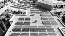 Photovoltaikanlagen auf Stadthaus